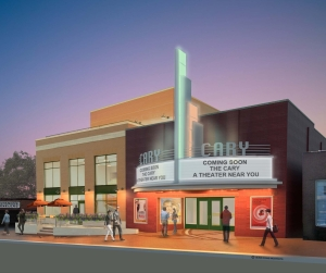 Cary Theater Rendering